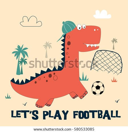 dino illustration vector for