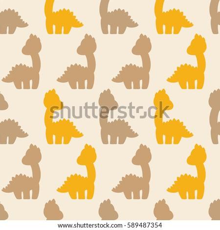 Dino Vector Pattern