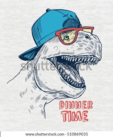 dinosaur illustration for kids