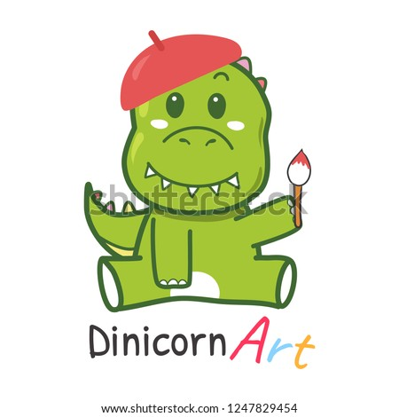dinosaur logo for kid store