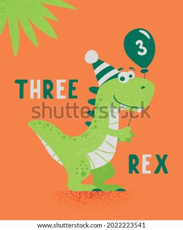 dinosaur tirannosaur three rex