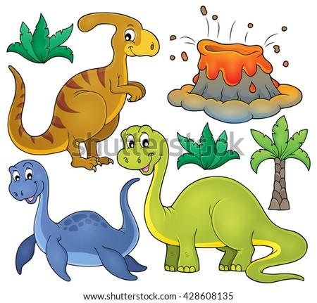 dinosaur topic set 3   eps10