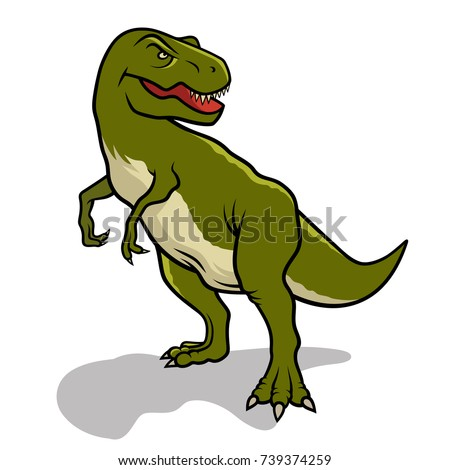 dinosaur vector illustration