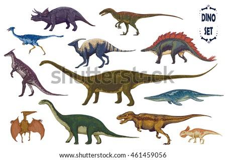 dinosaurs cartoon collection