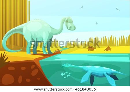 dinosaurus and prehistoric