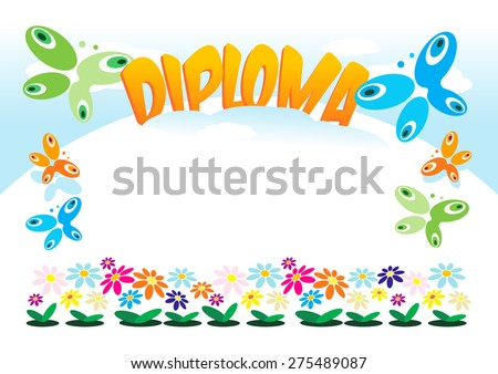 diploma or frame for kids