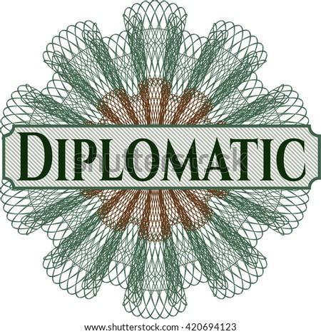 Diplomatic linear rosette