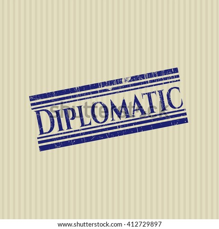 Diplomatic rubber texture