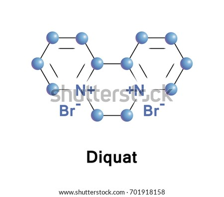 Diquat is a contact herbicide that produces desiccation and defoliation most often available as the dibromide. It is used in pre-harvest crop desiccation