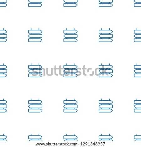 direction icon pattern seamless white background. Editable outline direction icon. direction icon pattern for web and mobile.