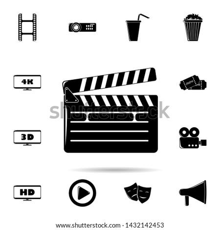 director cracker icon. Universal set of cinema and teatr for website design and development, app development Zdjęcia stock ©