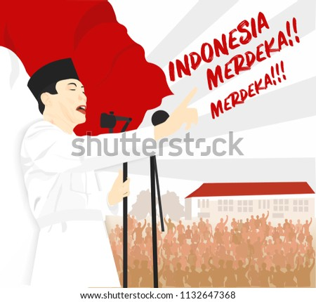 dirgahayu indonesia  the hero