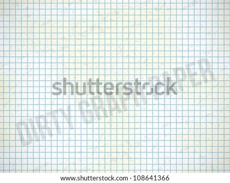 Dirty school graph paper