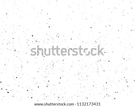 Dirty Specks Grit Rough Sand Vintage Isolated Vector Texture