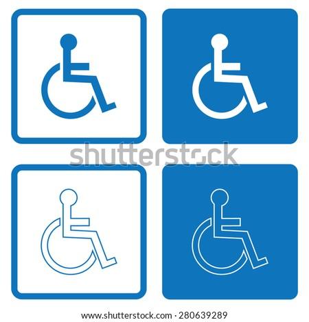 Disabled Handicap Icon