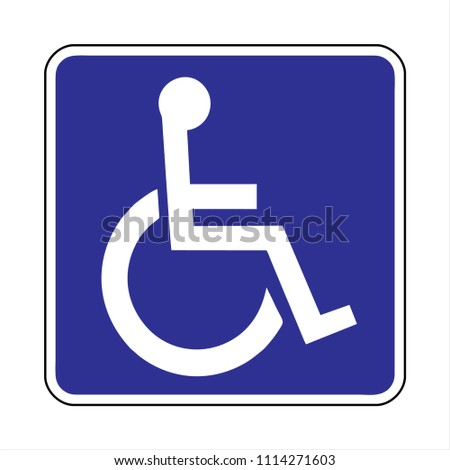 disabled icon  parking  toilet