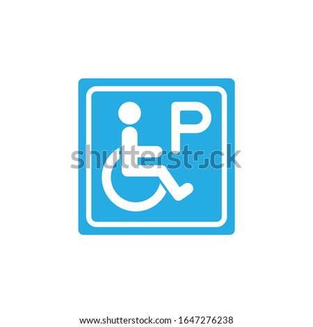 disabled parking icon  parking