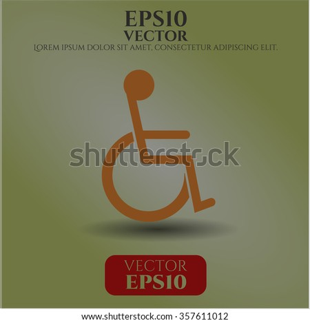Disabled (Wheelchair) icon