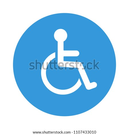 disabled wheelchair icon
