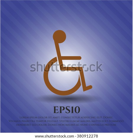 Disabled (Wheelchair) icon or symbol