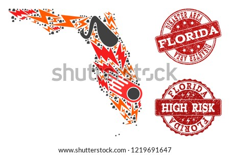 Florida Regions Map.Florida Map With Regions Vector Download Free Vector Art Stock