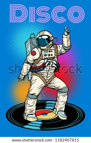 disco astronaut dances pop