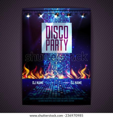 disco background disco poster