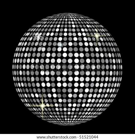 f8095251b725 Bola de discoteca vector - Descargue Gráficos y Vectores Gratis
