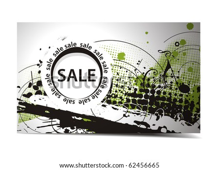 Discount card templates, vector illustration.