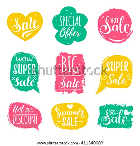 discount cards set of special...