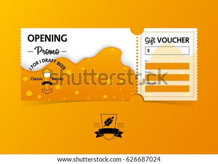 discount gift vouchers template