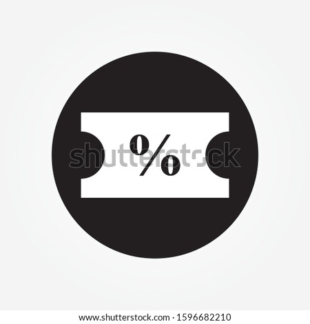discount icon, discount icon vector, in trendy flat style isolated on white background. discount icon image, discount icon illustration