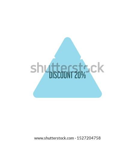 discount vector discounts, illustration icon or symbol