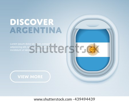 discover argentina flight to