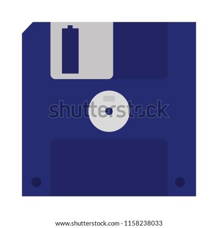diskette retro computer data media