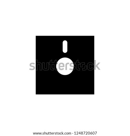 diskette vector icon. diskette sign on white background. diskette icon for web and app
