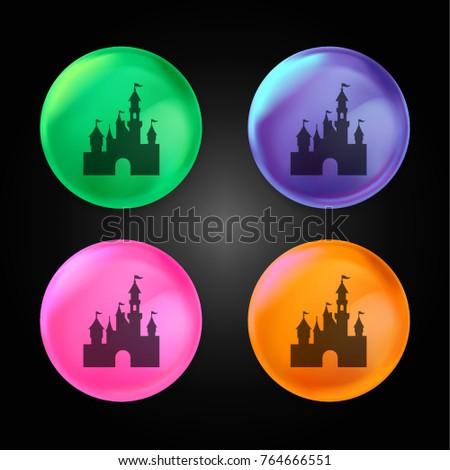 disneyland castle crystal ball