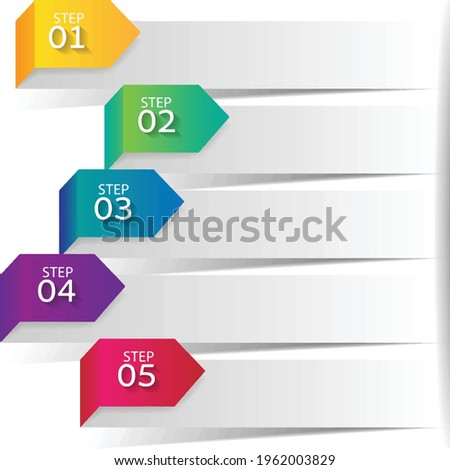 Dispatched labor Microsoft PowerPoint Chart Icon, element, empty 5-step bullet presentation