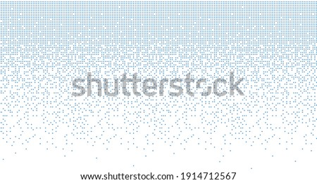 Dispersed background, Dissolved Filled Square, vector background