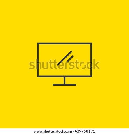display icon vector  clip art