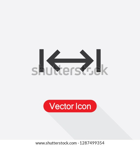 Distance Icon Vector Illustration Eps10