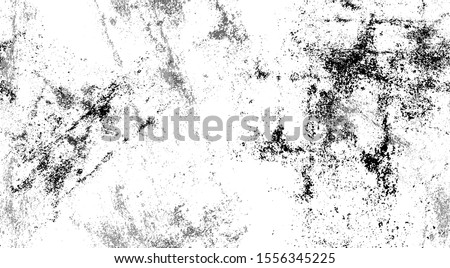 Distressed black and white grunge seamless texture. Overlay scratched design background.