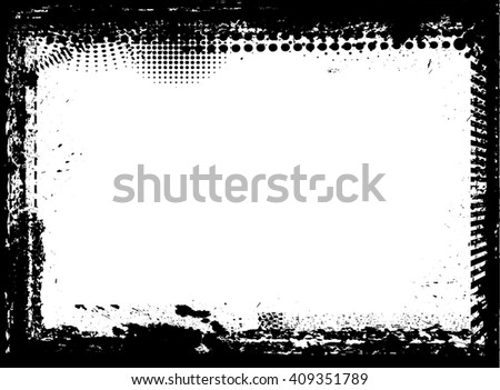 Vector Distressed Style Photo Edges - Download Free Vector Art ...