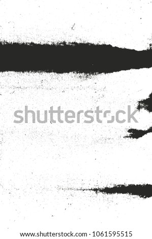 Distressed overlay texture of rusted peeled metal. grunge background. abstract halftone vector illustration #1061595515