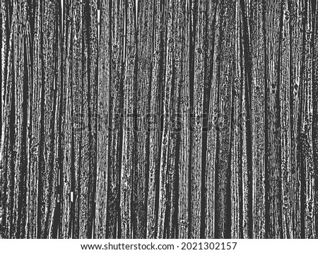 distressed overlay wicker vine