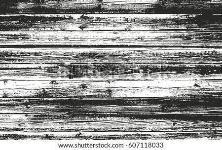 Distressed Overlay Wooden Texture Grunge Vector Background