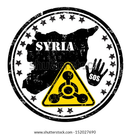 distressed syria chemical