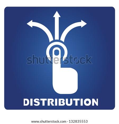 distribution Stockfoto ©