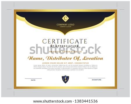Distributor Certificate and modern certificate