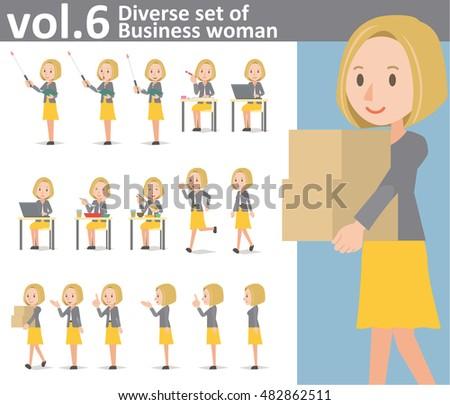 diverse set of business woman